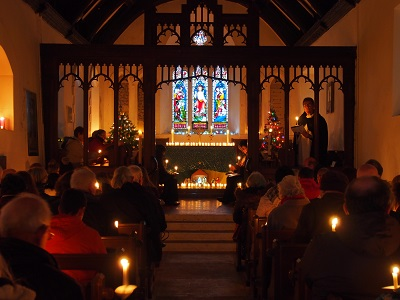Carols by Candlelight at 3.00 pm