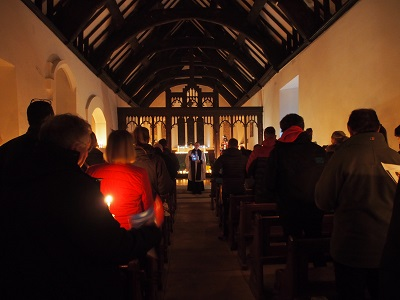Carols by Candlelight at 6 pm