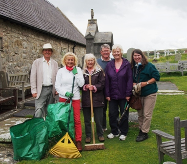 Members of the summer working party