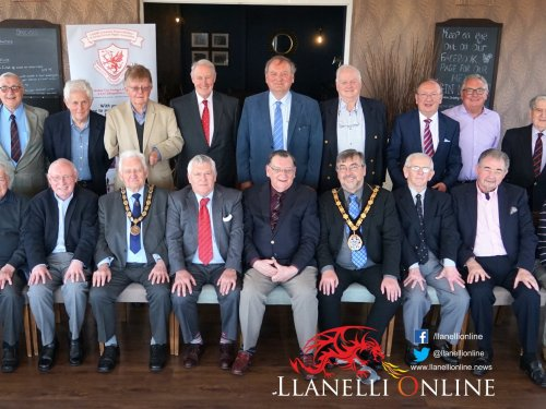 LUNCHTIME MEETING, LORD LESLIE GRIFFITHS,STRADEY HOTEL,19th APRIL 2018