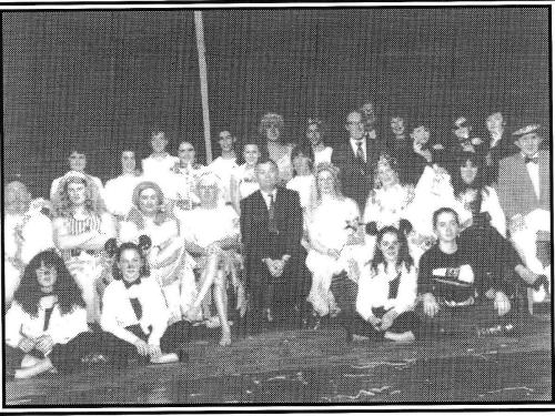 1993 School Production, a CHRISTMAS PANTOMIME. Headmaster Walter G Dash B.Sc.