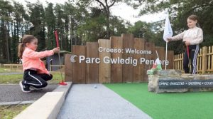 Pembrey Country Park opens new 'crazy golf' attraction
