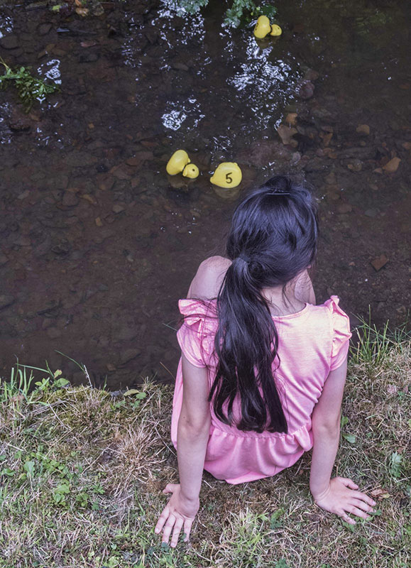 Watching the Duck Race
