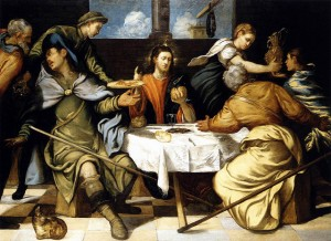 Tintoretto - Supper Emmaus