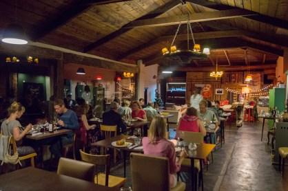 Dinner at Club Social Llao Llao