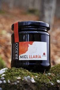 miel de brezo ecológica Miel Llaría 480