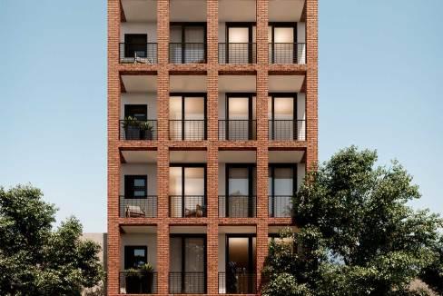Departamentos CDMX Nueva york 247 fachada
