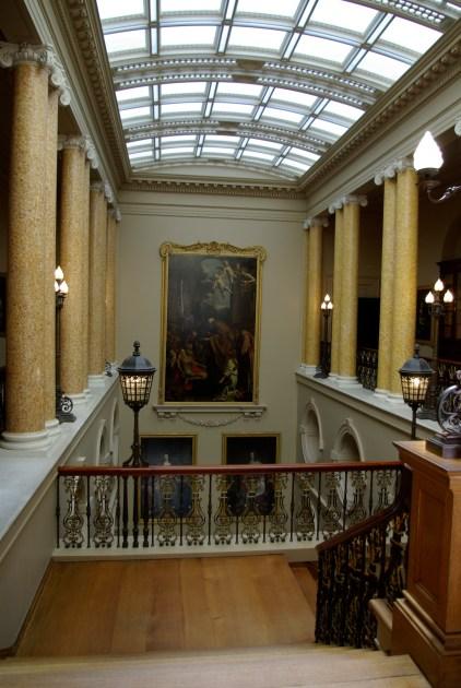 Entrance Hall from the top of the stairs