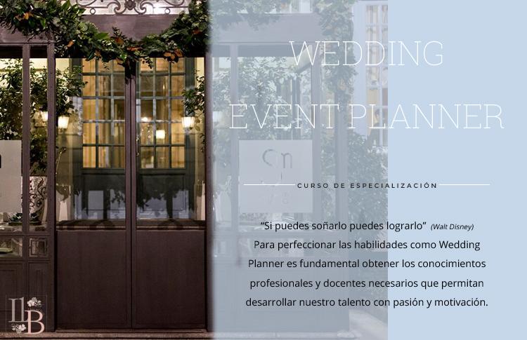 Curso Wedding Event Planner