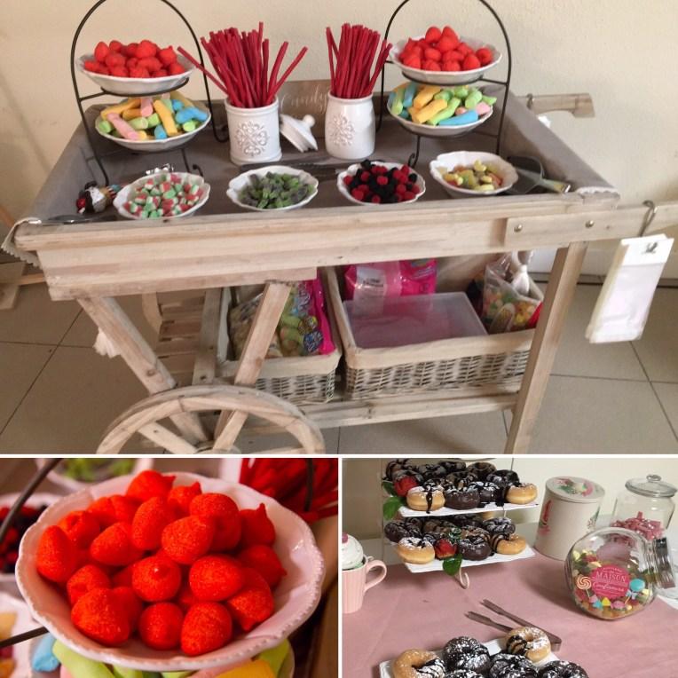 Candy Bar en el evento Alumni Villanueva