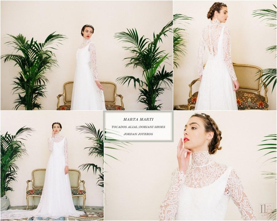 Elipsis: Colección novias de Marta Marti. Post en Llega mi boda