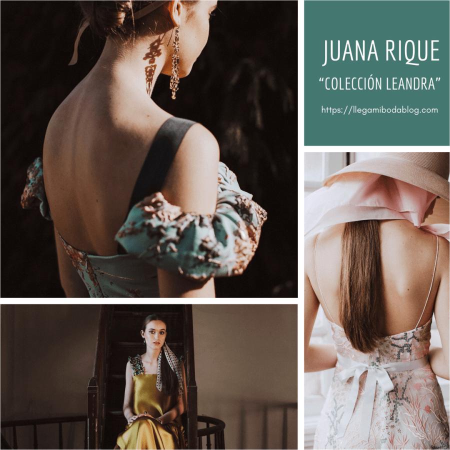 Juana Rique presenta su colección Leandra. Joyas Baraka