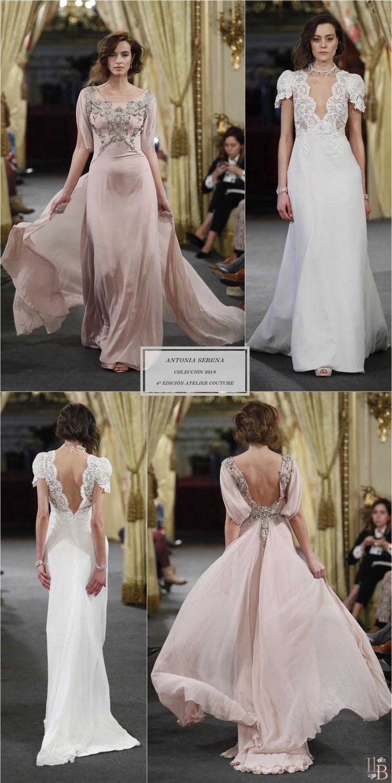 Desfile Atelier Couture 2018- Antonia Serena: Colección Reminiscencia