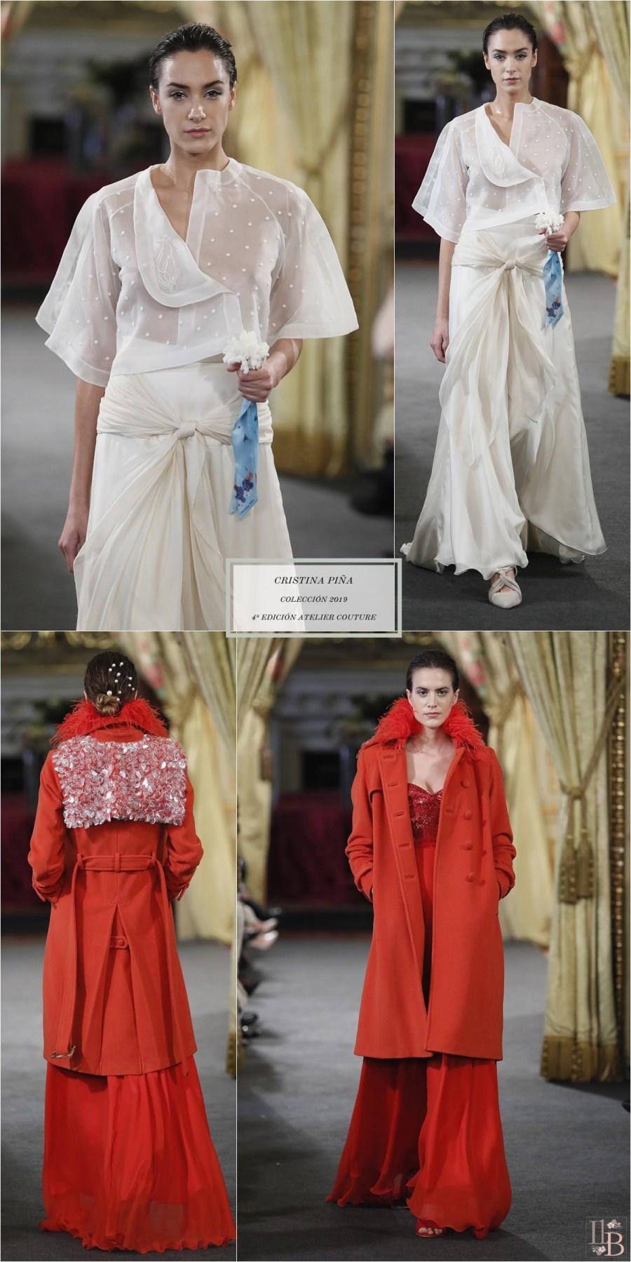 """Desfile Atelier Couture 2018- Cristina Piña: Colección """"La Isla"""""""
