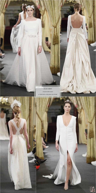 """Desfile Atelier Couture 2018- Eliz Smis: Colección """"FLEUR DE LIS"""""""