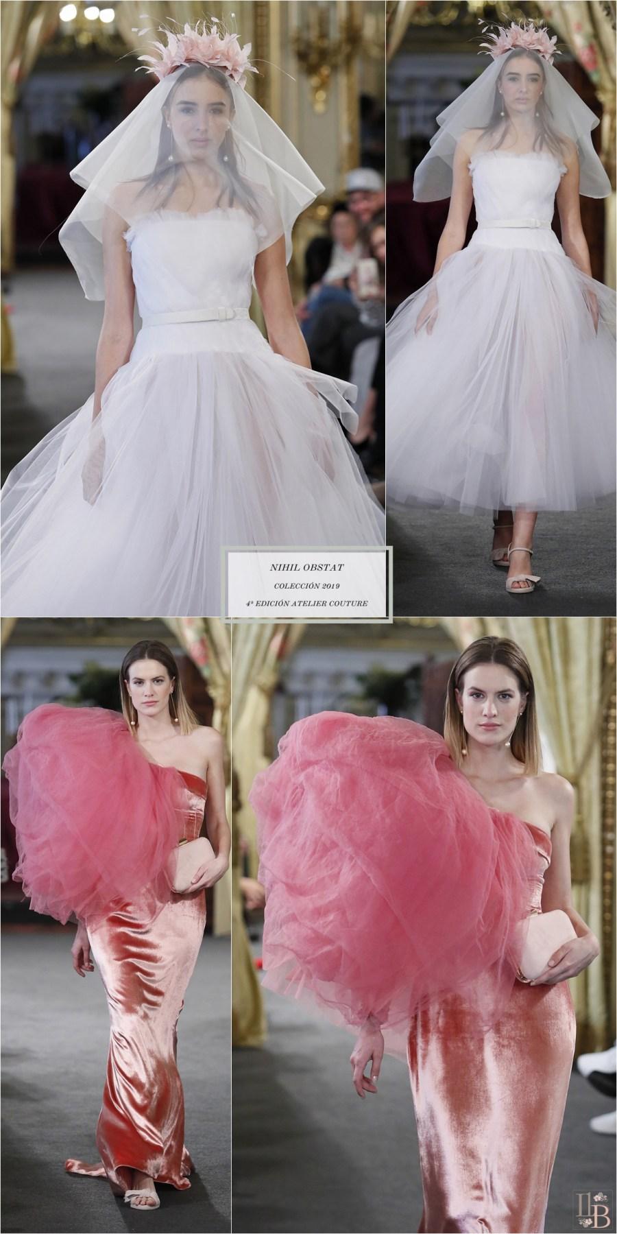 Desfile Atelier Couture 2018- Nihil Obstat: Colección Novias 2019