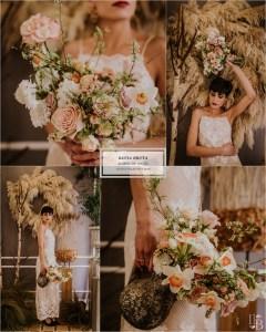 Nueva colección de ramos de novia de Savia Bruta en Llegamibodablog.com