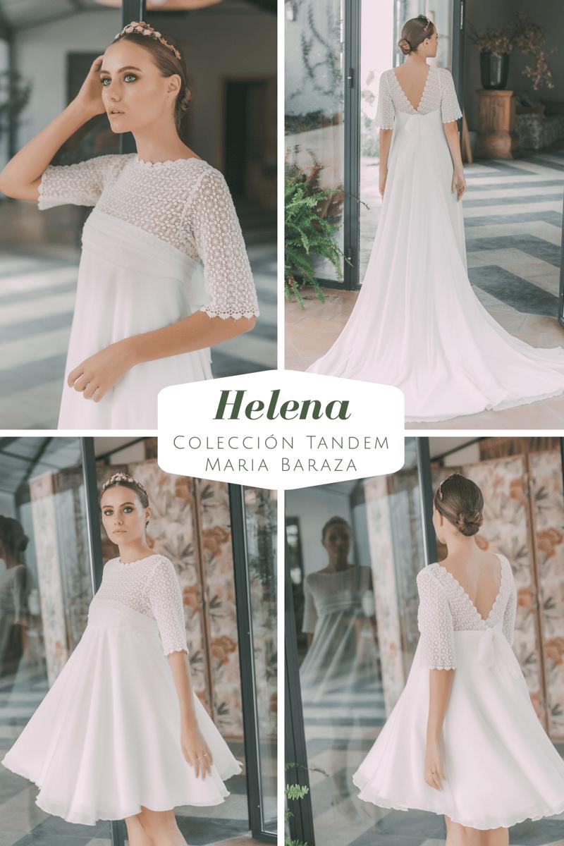 T Á N D E M, la nueva colección de María Baraza by llega mi boda. Helena