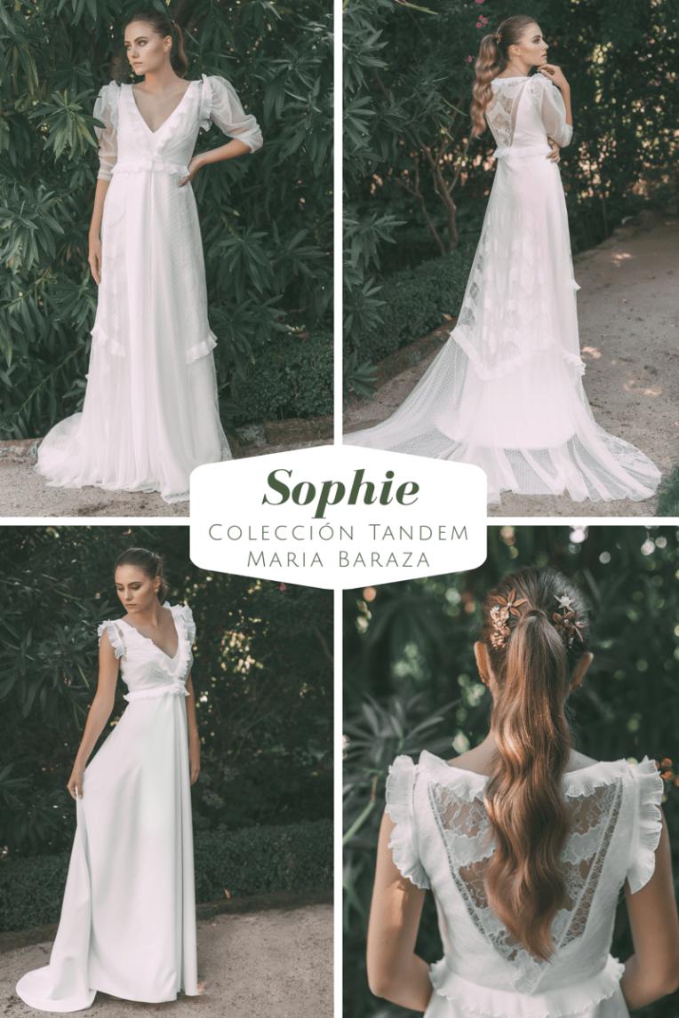 T Á N D E M, la nueva colección de María Baraza by llega mi boda. Sophie