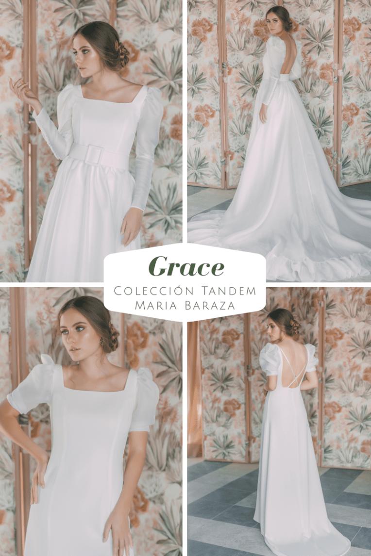 T Á N D E M, la nueva colección de María Baraza by llega mi boda. Grace