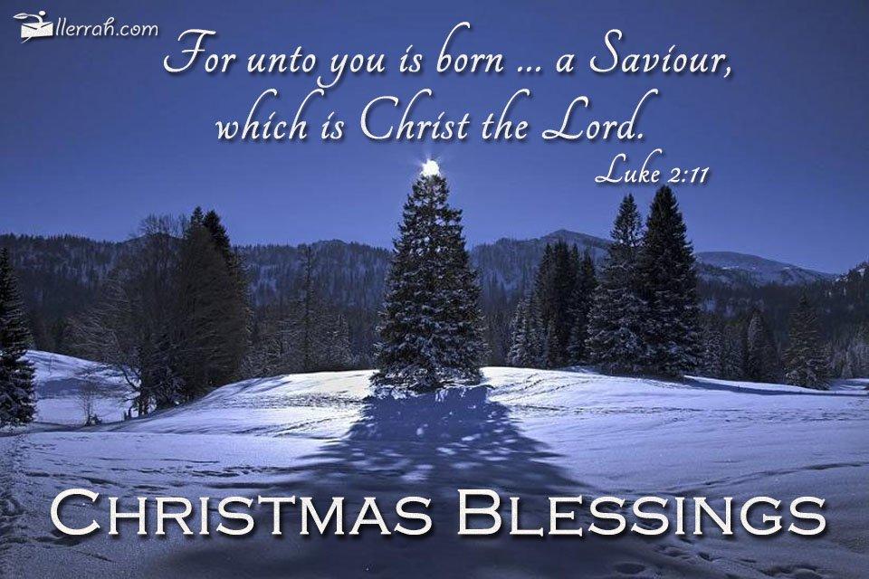 Sending Christmas Blessings