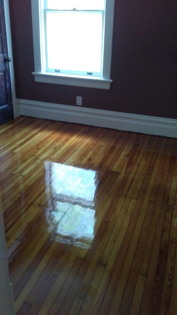Waterlox floor finish