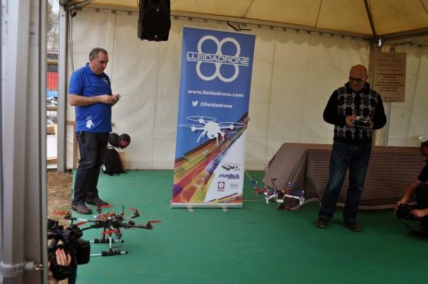 llimargas.cat - conferència drons a Fira del Ram a Tordera.