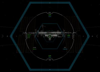 Simulador càpsula SpaceX Dragon i la Estació Espacial Internacional (ISS)