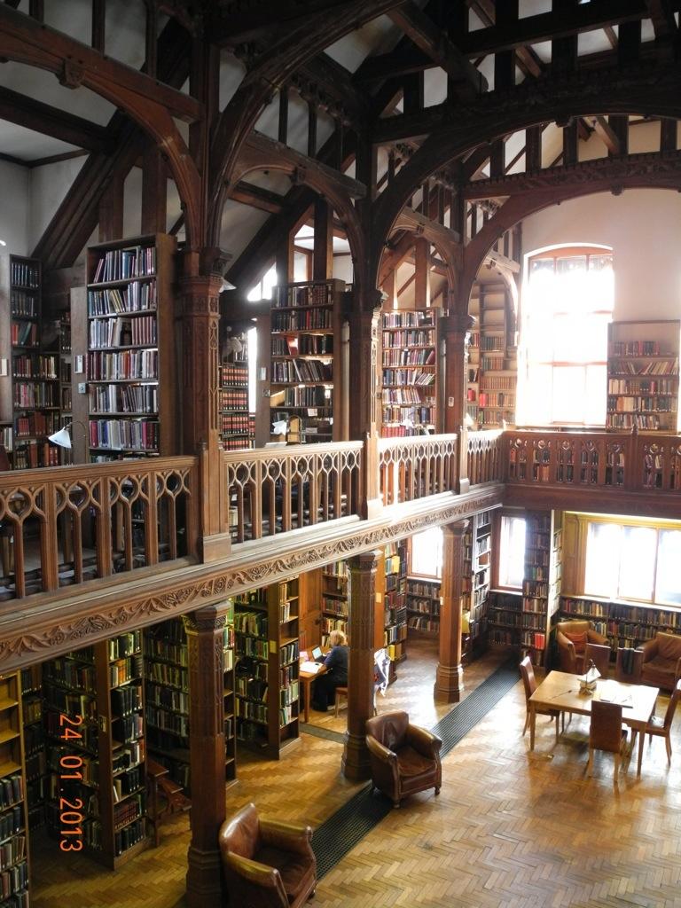 Gladstone Library Hawarden Lliodustybooks