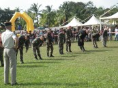 Martial arts instructors of the Foreign Legion