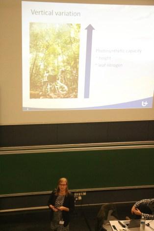 Lore's presentation © Melanie Verlinden