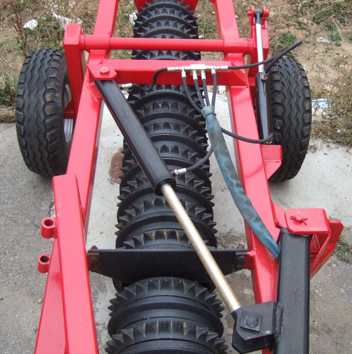 Rodillos agrícolas lineales hidraulico en un solo cuerpo