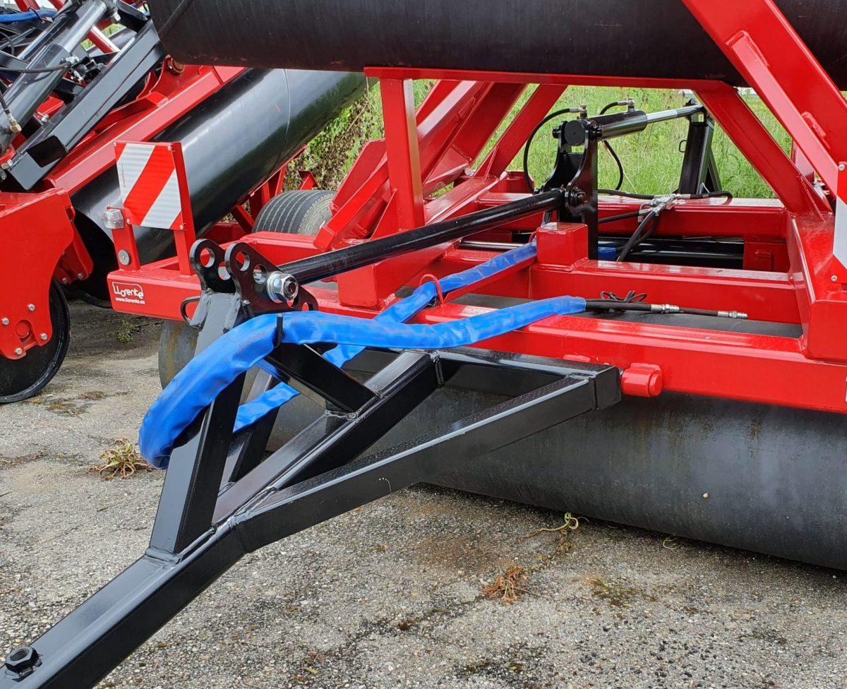 lanza hidraulica en el rodillo modelo RTA