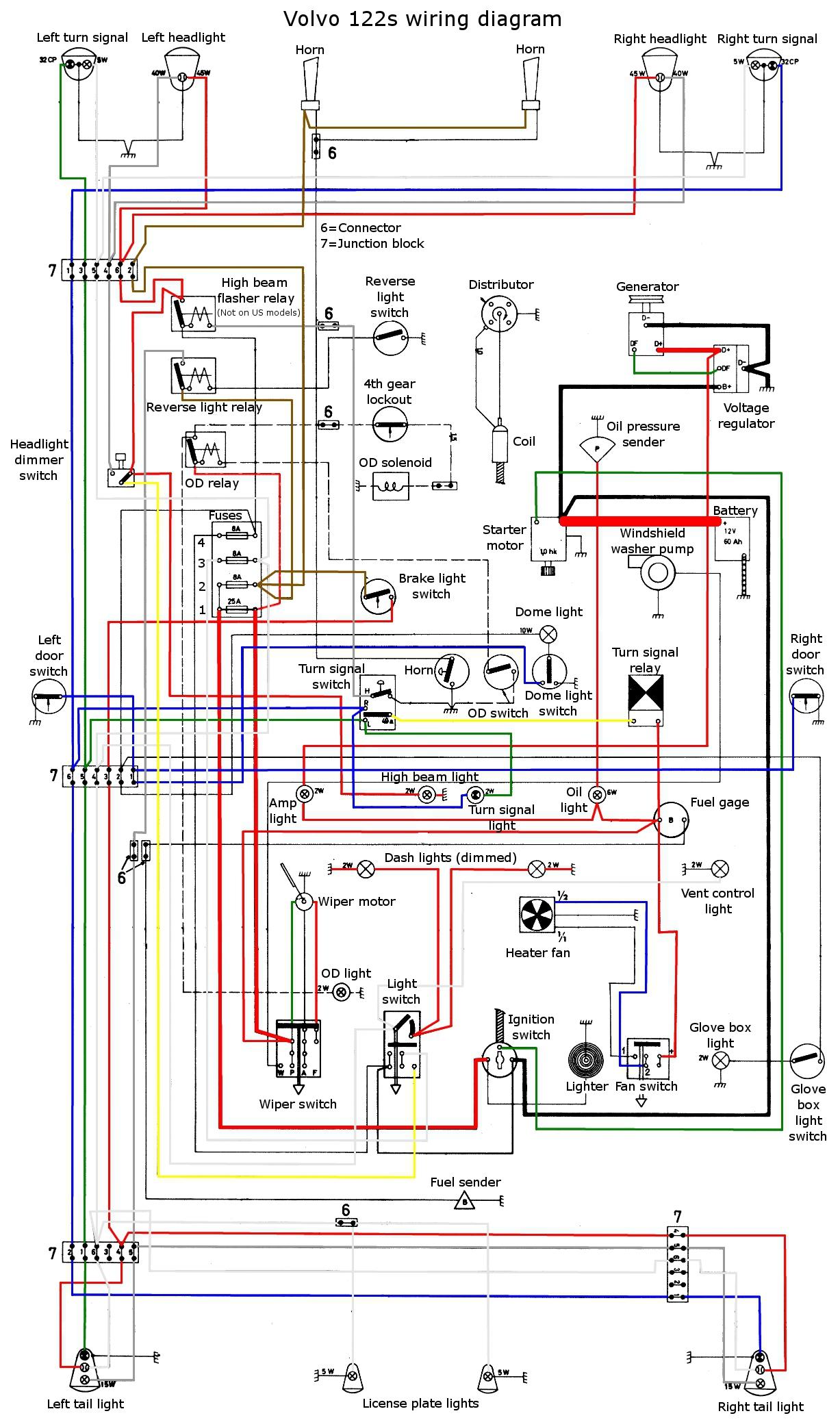 2007 Volvo S60 Wiring Diagram Free Download Wiring Diagram  122%20wiring%20diagram%20color