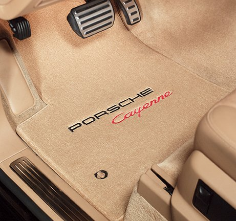 Lloyd Mats Porsche Custom Fit Logo Floor Mats