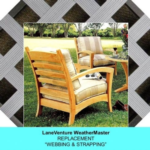 lounge chair replacement straps kid plastic chairs lloyd flanders cushions lane weathermaster del rey