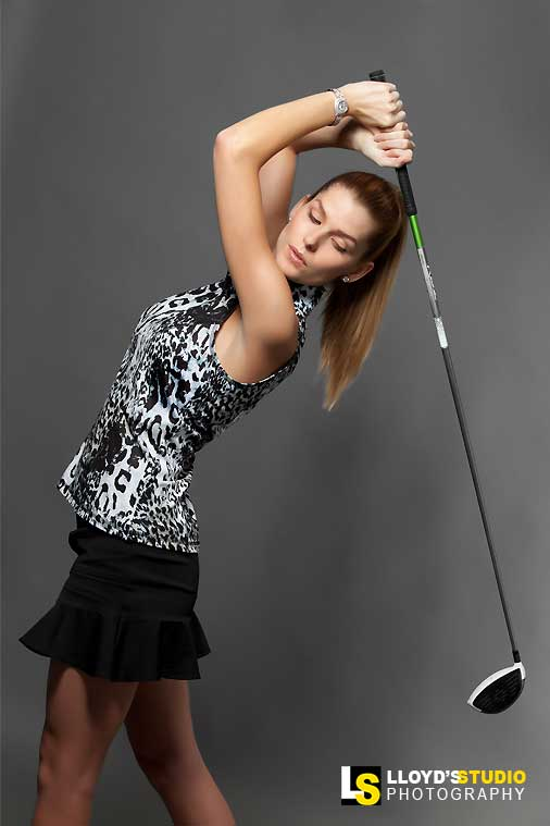 Fashion Plus Apparel Photography , Golf Magazine Advert