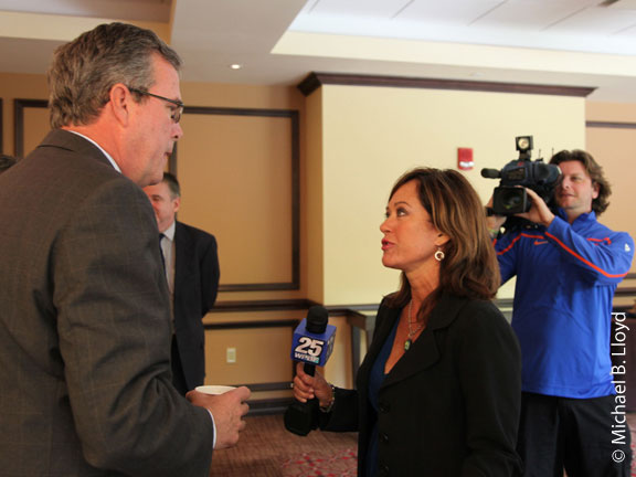Corporate Event Photography, Conventions & Trade shows Photography , Jeb Bush at PGA National Corporate Event