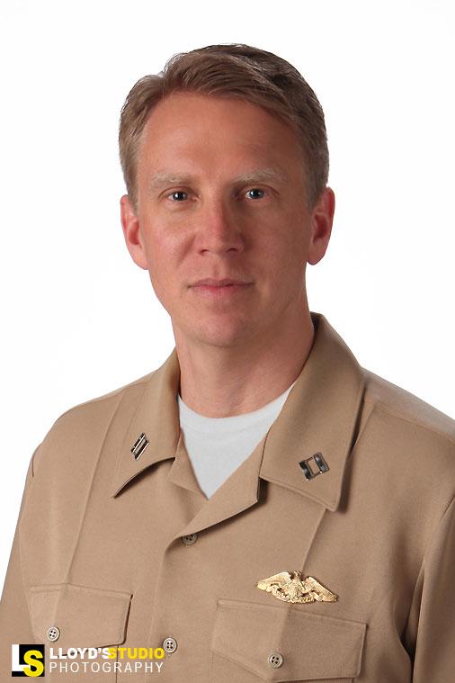 Military Portraits - military promotion portrait - Whittel Robert United States NAVY