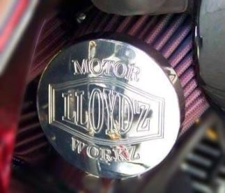 LLOYD'Z Torque Tubes End Cap - Chrome