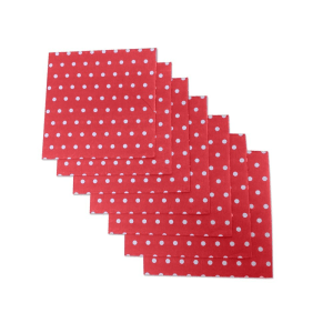 Red Polka Dot Napkins