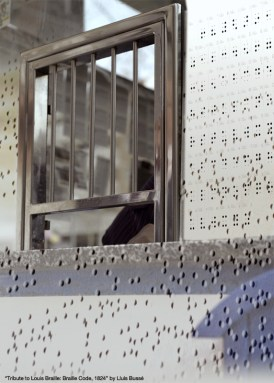 Tribute to Louis Braille: Braille Code, 1824