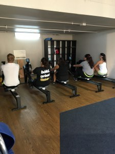 Ergs in Boathouse