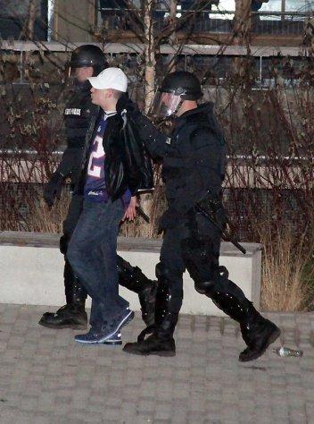 UMass riot photo 04
