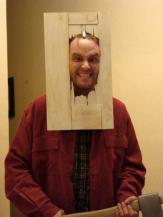ths shining jack nicholson head thru door