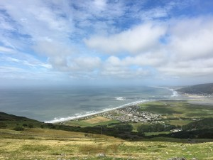 Fairbourne and Barmouth from the coastal path