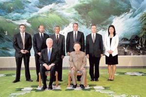 Bill and Kim Jong Il