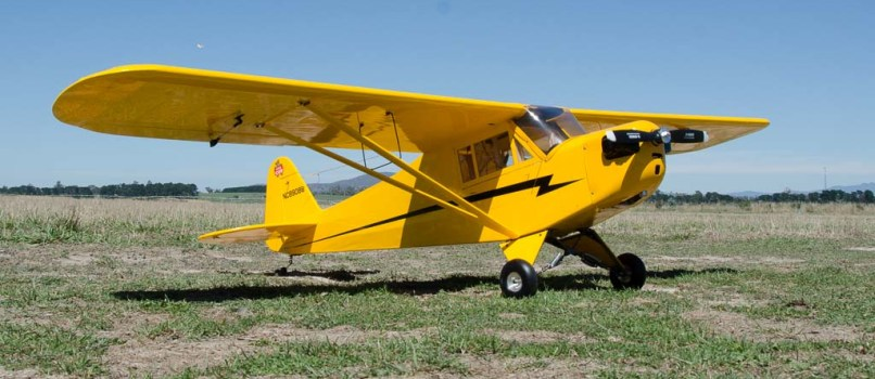 Andy deWater's Piper Cub