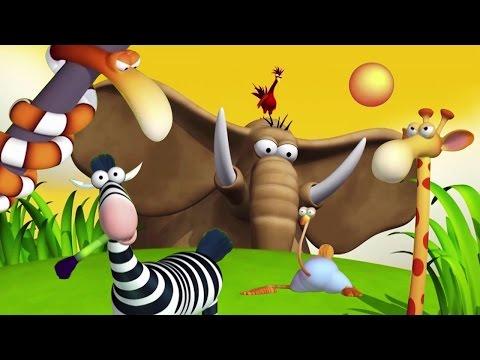 Funny Animals Cartoons Compilation Just for Kids Entertainment | HooplaKidz TV