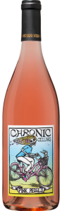 Chronic Cellars Pink Pedals Rosé is comprised of 87% Grenache and 13% Syrah.
